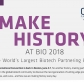 Meet us at Bio 2018