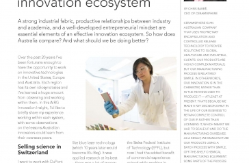 Recent article on innovation in AIRG magazine